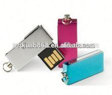 Hot 8GB mini waterproof swivel usb 2.0 memory stick flash pen drive