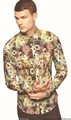 Digital impressão de tecido para camisas/oxford tecido para camisas/atacado camisas de tecido