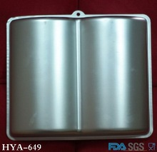 Open Book Shaped Cake Decoration Aluminum Cake Tins From China