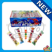 spiderman jelly fruit balls lollipop