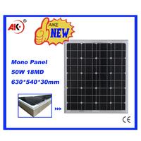 mono broken cells 50w solar panel