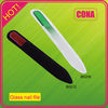 Wholesale high quality assorted color glass nail file