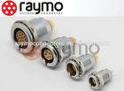 Lemo metal compatible Connector, 00B 4 pin ,socket EGG, solder/ print, wire harness