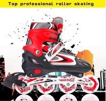 EN71 certification pro child flashing inline skate