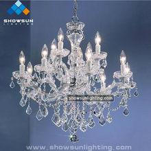 12 Lights Elegant Maria Theresa Crystal Chandelier