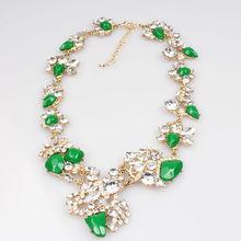 2014 fashion jewelry statement necklace wholesale chunky necklace