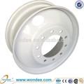 2014 novos produtos 24.5 x 8.25 sem câmara roda de aço aro de roda do caminhão