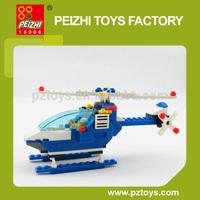 PEIZHI Police Station Series DIY Educational Plastic Toys Building Blocks