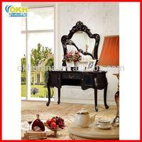 Antique Vanity Dresser Makeup Table with Mirror