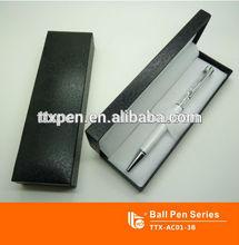 2014 Hot sale crystal pen set, logo pen set