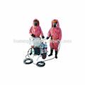 carro de seguridad y equipos de rescate
