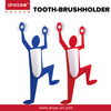 D321 toothbrush holder with suction cup suction cup bathroom accessories wall mount toothbrush holder