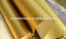 Gold matt embossed aluminum foil paper,Luxury gold embossed aluminum foil paper