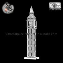3D Educational Creative Handmade Toy Big Ben Architectural Model