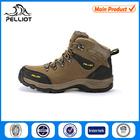 2014 Fashion Leather Mountain Outdoor Men Hiking Shoe