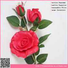 PU surya rose flower , cheap artificial flower wholesale factory