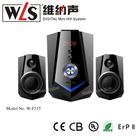 WLS 2.1 Micro Mini Speaker W- F 215 support Audio/USB/SD/Karaoke function