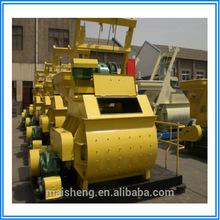 Twin Shaft Electric Js500 Concrete Mixer