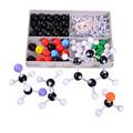 อะตอมโมเลกุลรูปแบบชุดพลาสติกสำหรับครูสอนการเรียนการสอนรูปแบบชุดอินทรีย์เคมี