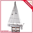 professional competition level high quality 1:25 scal big rc racing sailboat model 111.8cm