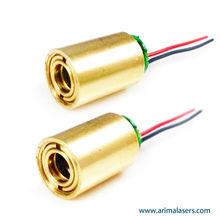 450nm 1mW 3V D10.5mm Blue Diode Laser Module, Focus Adjustable Small Blue Laser Module for Medical Treatment/Pointer