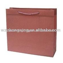Printed Brown Kraft Paper Bag