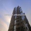 composto plástico de madeira sol sombreamento da grelha painel de fachada