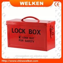Economical!!! 12 holes Portable Metal Lock Box