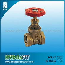 brass stem Gate valve with F/F