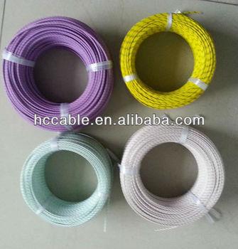 PFA/PTFE insulated wire