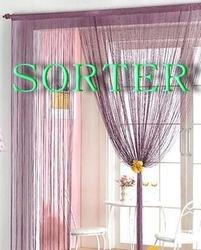 wholesale unique fashionable decorative string curtain/window curtain