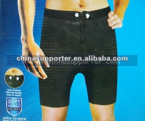 Neopreno que adelgaza los pantalones, Neopreno que adelgaza a corto, Que adelgaza los pantalones 0021