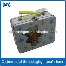 Childrens' metal lunch tin box