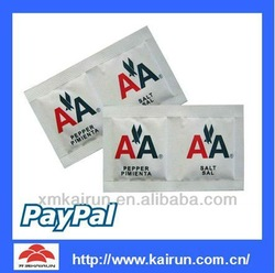 disposable sugar sachet