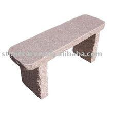 Natural Garden Stone Carving Bench