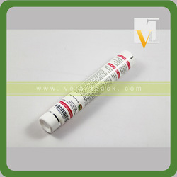 D22mm transparent colored tube packaging plastic