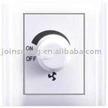 Wall Fan control switch(dimmer switch)