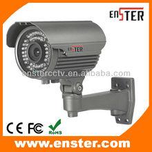 outdoor IP66 waterproof IR security equipment cctv camera,4-9mm vanfocal effio-p monitors