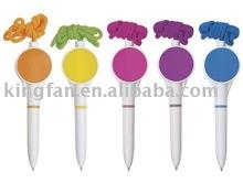 plastic twist lanyard ball pen