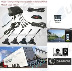 3 year guarantee ultrasonic parking sensor manufacture for truck/bus/trailer/pickup/van/sedan (SDW-4-UMP/RFP)