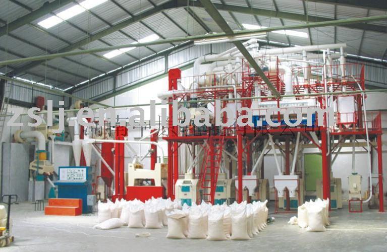 grãos de equipamentos de moagem de trigo ou de milho