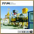 15t/h móvil de asfalto planta de mezcla caliente, planta de asfalto móvil, mezclador de asfalto