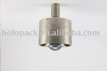 "1-1/2"" Ball Down HOK-38N Chrome Steel Ball Transfer Unit with thread"