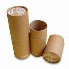 custom print poster tube brown paper craft tube