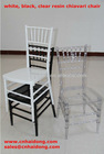 Stackable Silla Tiffany/ resin chiavari chair for wedding/ party/ banquet