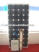12v 24v 36v 48v dc solar submersible pump