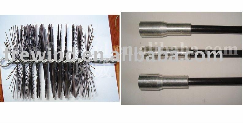 NPT Chimney Brush Rod Kit