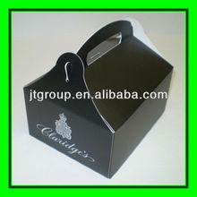 art paper custom shape handle recycled printing cake box