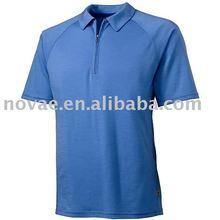 classics style men's polo shirts 3 button collar shirts