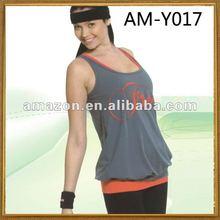 ANNA SHI 2012 HOT SELLING SEXY GIRLS yoga clothing bamboo AM-Y017